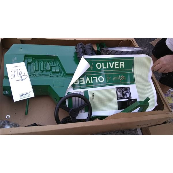 Spirit of Oliver Pedal Tractor, Collector Edition 1999, New in Box, Signed Joseph L. Ertl