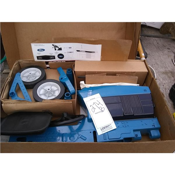 Ford 7740 New Pedal Tractor, KD in Box