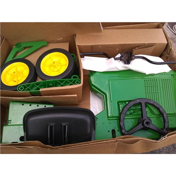 John Deere 7600 Pedal Tractor, New in Box