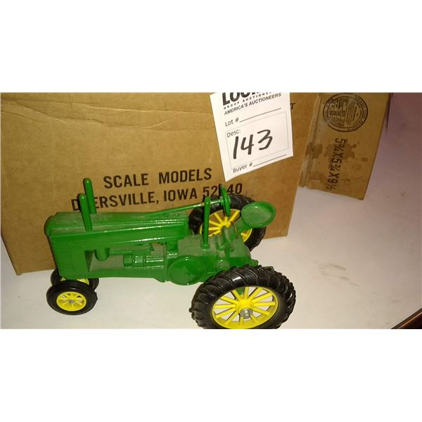 John Deere 1/16 Scale Model Tractor, Stamped 6th Annual Toy Collector's Show