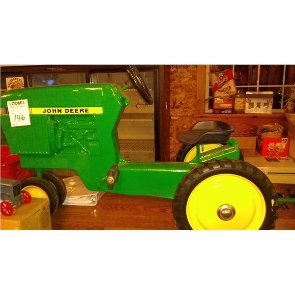 John Deere Pedal Tractor w/ Trailer