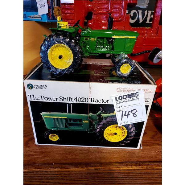 John Deere Powershift 4020 1/16 Scale Model Tractor