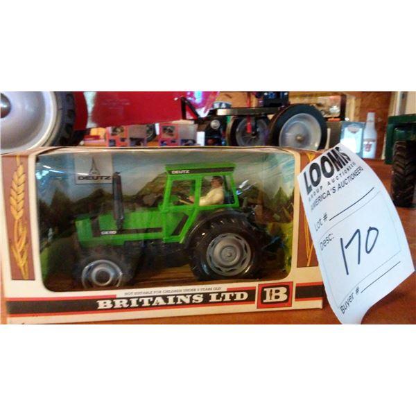Miniature Britains LTD Deutz Scale 1/32 Model Tractor
