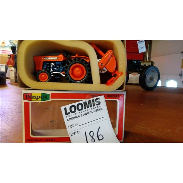 Kubota L245 Miniature 1/23 Scale Tractor/Rotary Tiller