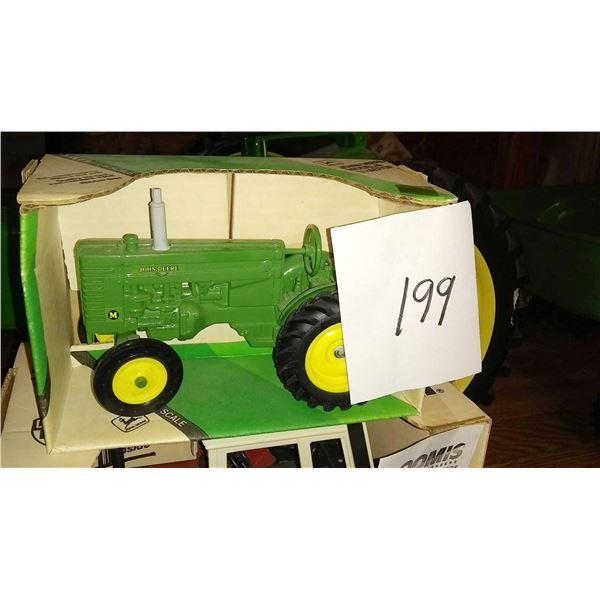 "John Deere ""M"" 1/16 Scale Model Tractor"