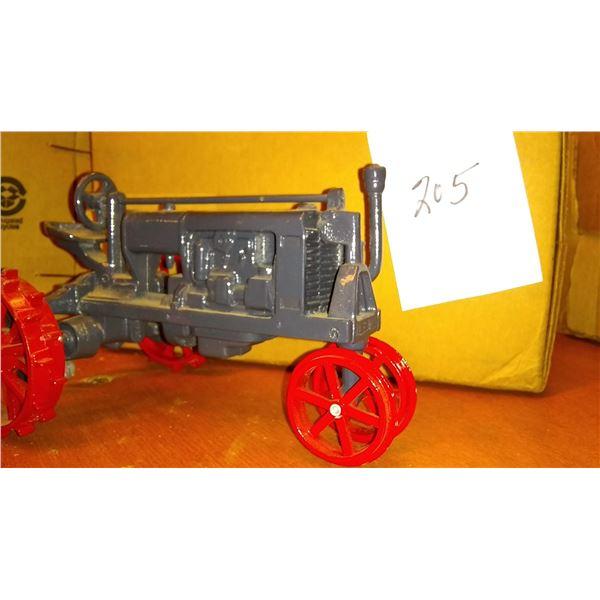 Antique Steel Wheel 1/16 Scale Model Tractor, Unmarked