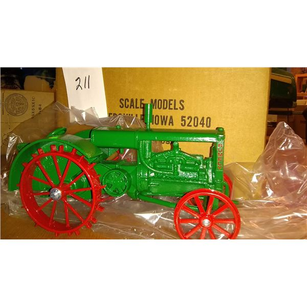 Rumely #6 Antique Steel Wheel 1/16 Scale Model Tractor