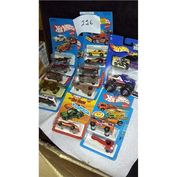 Vintage Hot Wheels Miniature Racing Cars Collection