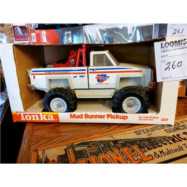 Vintage Tonka Mud Runner Car Quest Pickup Truck, #220