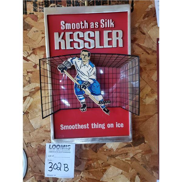"Kessler Smooth As Silk Resin Sign, 9.5"" x 13"""