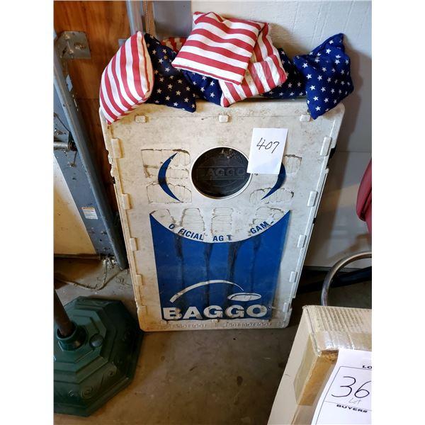 Baggo Bean Bag Toss / Portable Cornhole Game