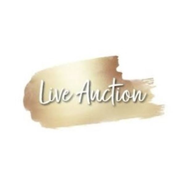 LIVE AUCTION ONLY ITEMS. NOT AVBL FOR ONLINE BIDDING.