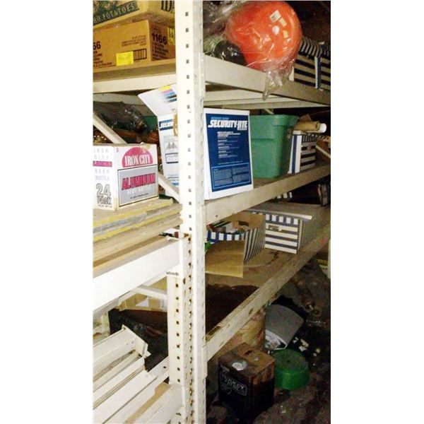 Commercial Pallet Racking: Plywood Inserts, Uprights, Cross Members / AKA LOT 903