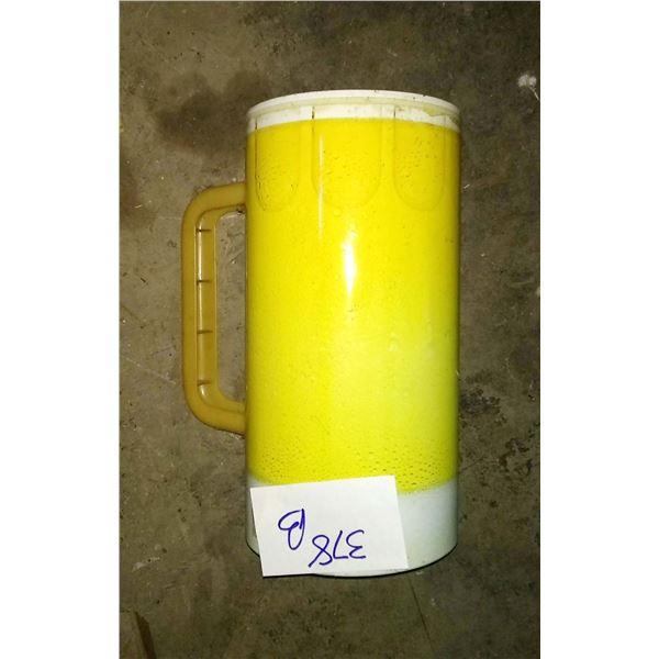 24 inch metal beer mug