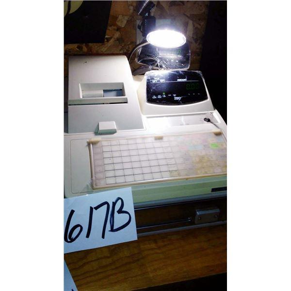 TEC MA-1350 Cash Register, Works