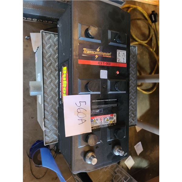 New Dubois 4DLT-950 Commercial Transcontinental Battery / AKA LOT 560A