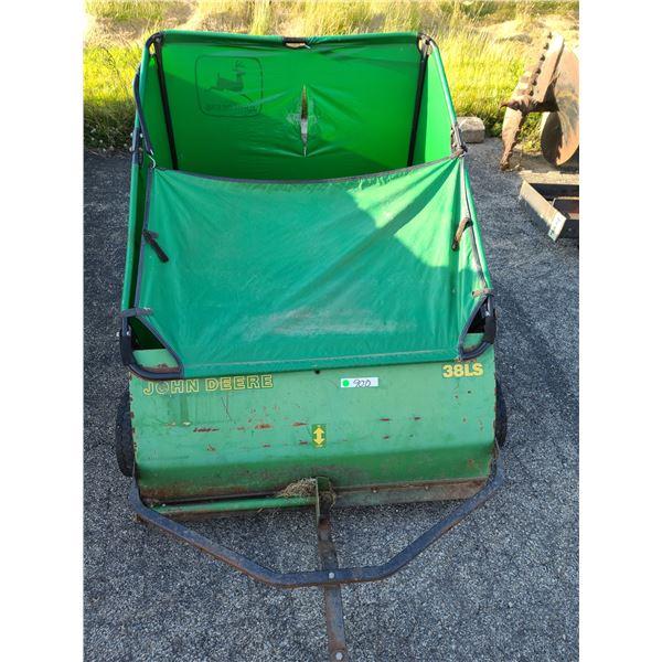 John Deere 38LS Lawn Sweeper / AKA LOT 900