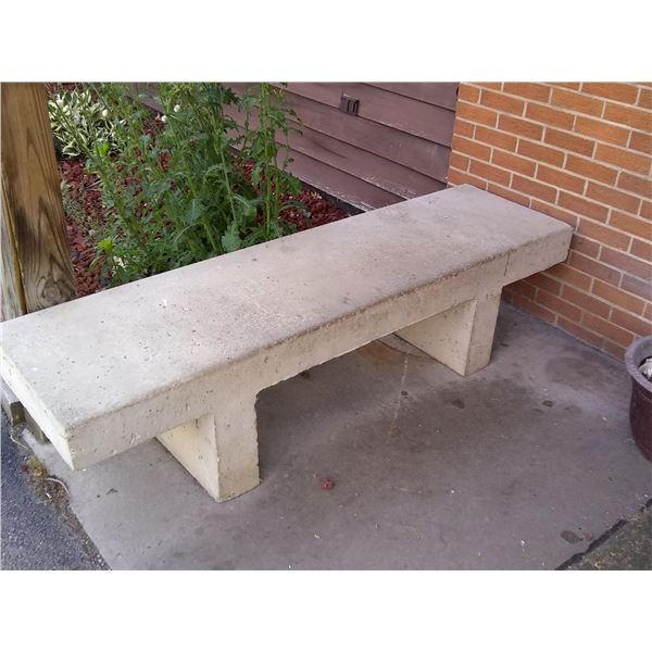 Classic Concrete Park Bench / AKA LOT 901B