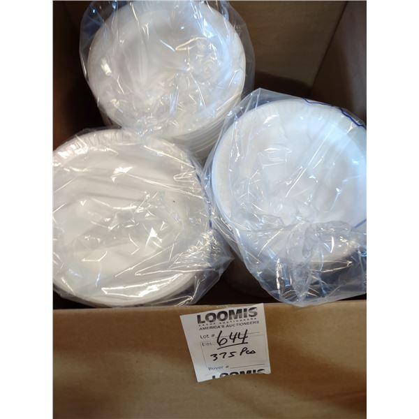 375 PC Styrofoam Plates