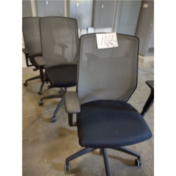 LIKE-NEW HIGH BACK OFFICE CHAIRS (x3)