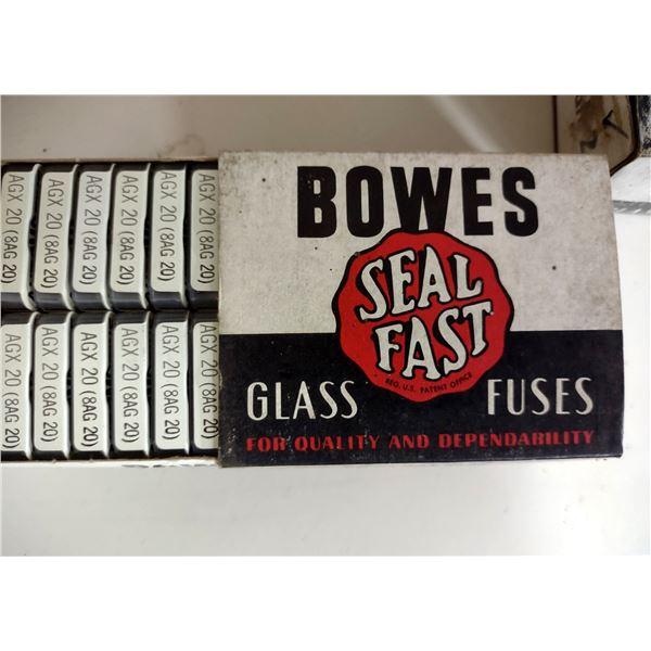 Bowes Antique Glass Fuses, Most in Original Box (Case Lot)