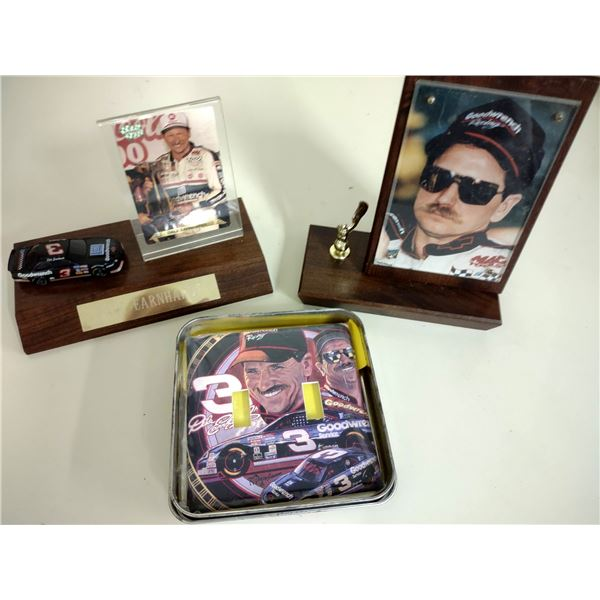 3 PC Dale Earnhardt Sr. Collectible Lot