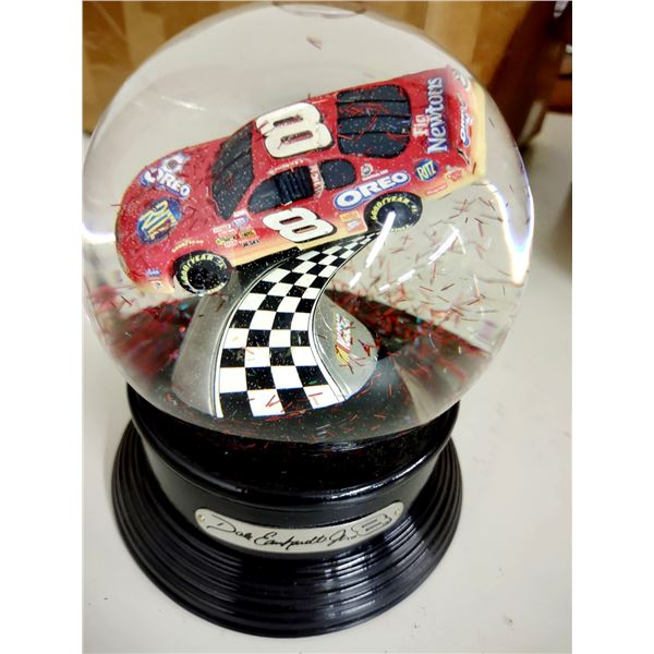 Dale Earnhardt Jr. NASCAR Busch Series Grand National Snow Globe