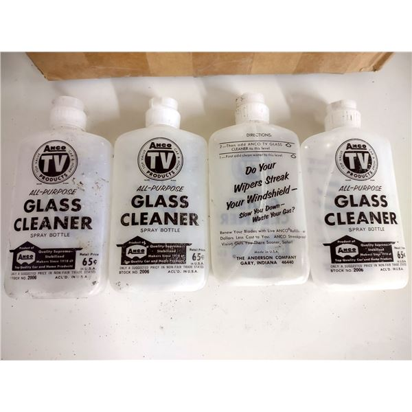 Anco TV Products All Purpose Glass Cleaner Spray Bottles, Approx. 17