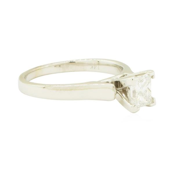 0.59 ctw Diamond Engagement Ring - 14KT White Gold