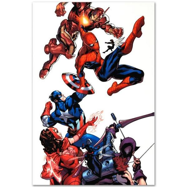 "Marvel Comics ""Marvel Knights Spider-Man #2"" Numbered Limited Edition Giclee on"