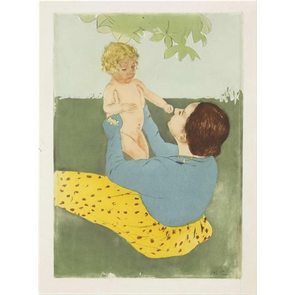 Cassatt - Under the Chestnut Tree