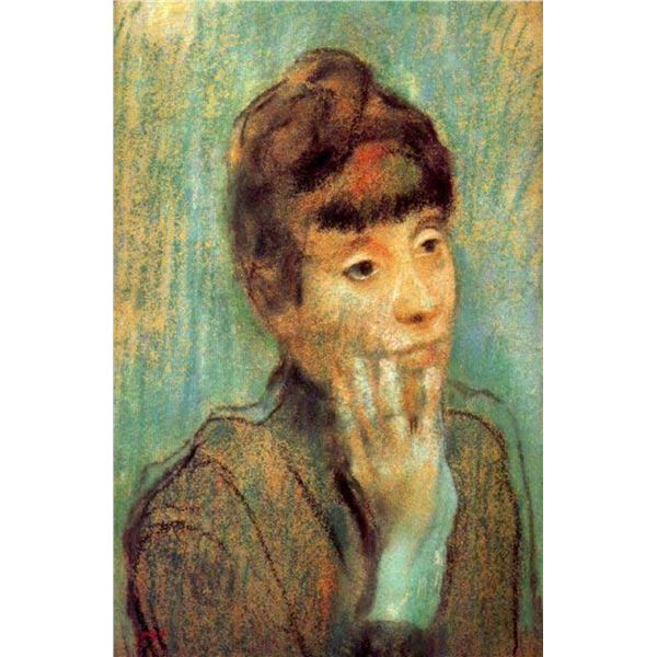 Edgar Degas - Portrait Of A Lady