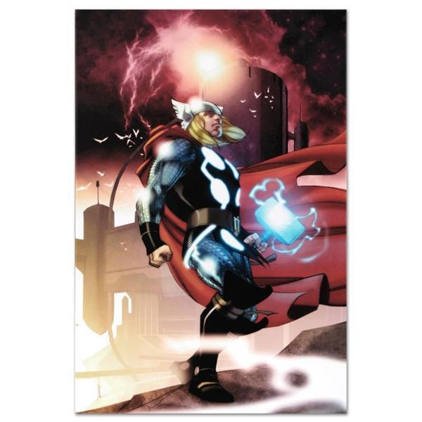 "Marvel Comics ""Thor #615"" Numbered Limited Edition Giclee on Canvas by Joe Quesa"