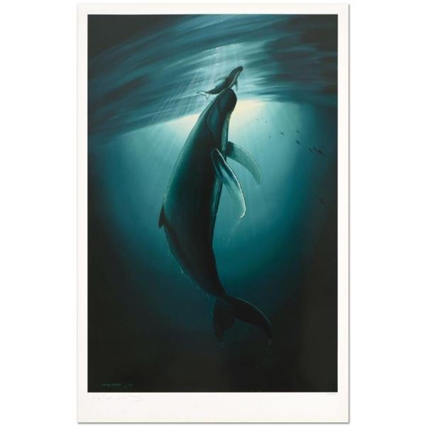 "Wyland, ""The First Breath"" Limited Edition Lithograph, Numbered and Hand Signed"