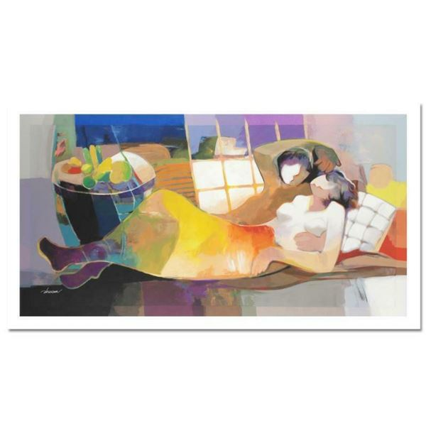 "Hessam Abrishami ""Daylight Dream"" Limited Edition Serigraph on Canvas (48"" x 24"""