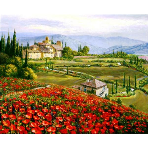"Sam Park ""TUSCANY RED POPPIES"""