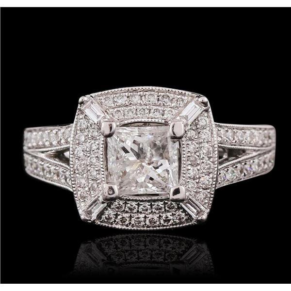 18KT White Gold 1.56 ctw Diamond Ring
