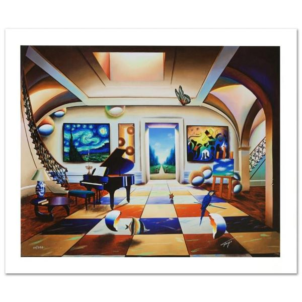 """""""Elegant Music"""" Limited Edition Giclee on Canvas by Ferjo, Numbered and Hand Sig"""