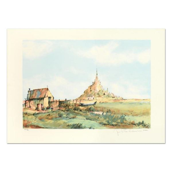 "Laurant, ""San Michel"" Limited Edition Lithograph, Numbered and Hand Signed."