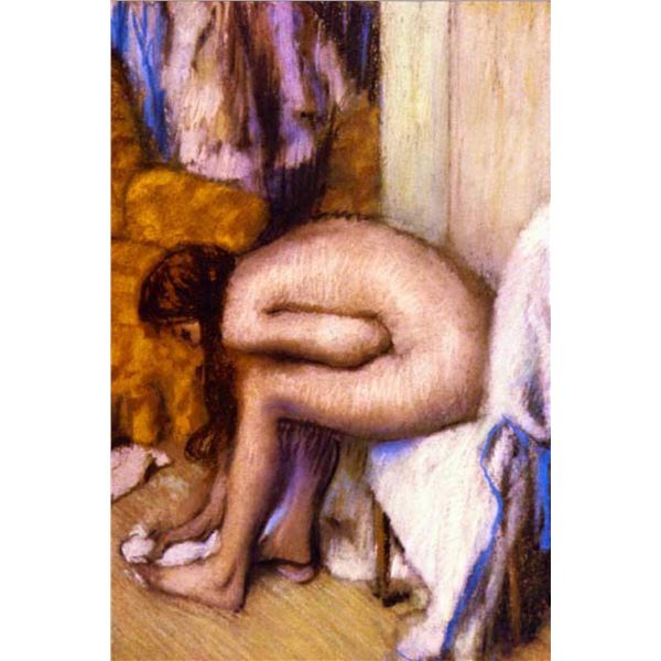 Edgar Degas - After The Bath