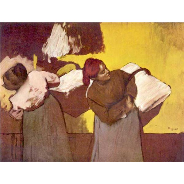 Edgar Degas - Two Washer Women