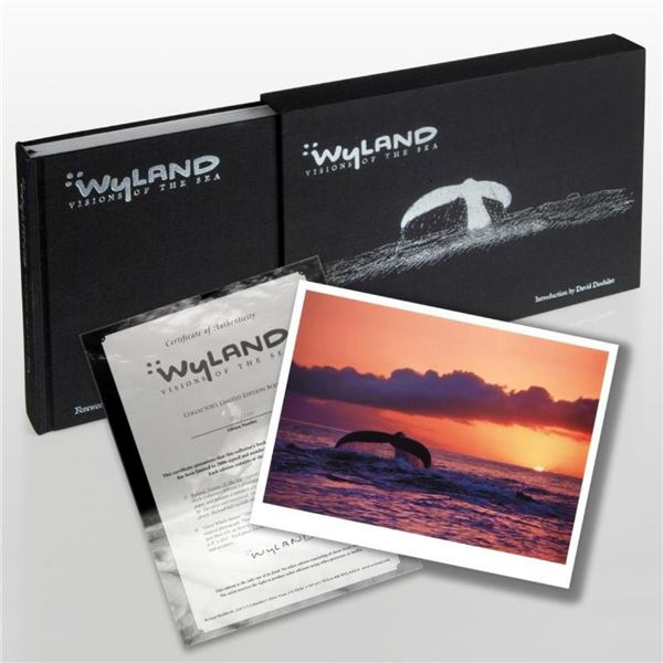 """""""Wyland: Visions Of The Sea"""" (2008) Limited Edition Collector's Fine Art Book by"""
