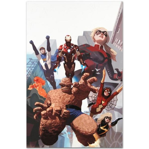 """Marvel Comics """"I Am An Avenger #4"""" Numbered Limited Edition Giclee on Canvas by"""