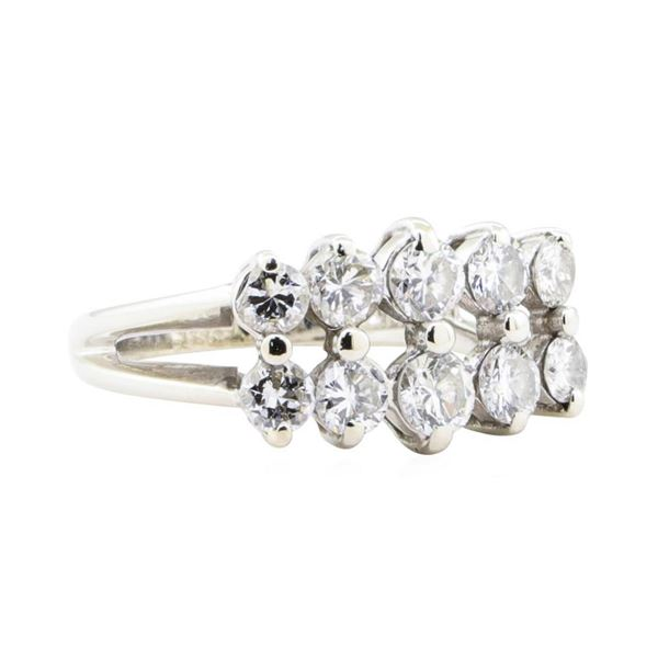 1.56 ctw Diamond Five Stone Ring - 14KT White Gold