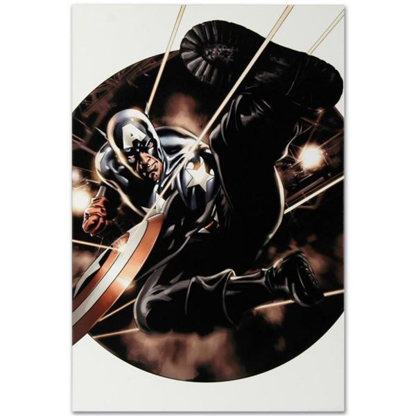"Marvel Comics ""Captain America #41"" Numbered Limited Edition Giclee on Canvas by"