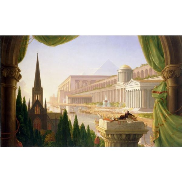 Thomas Cole - Architects Dream