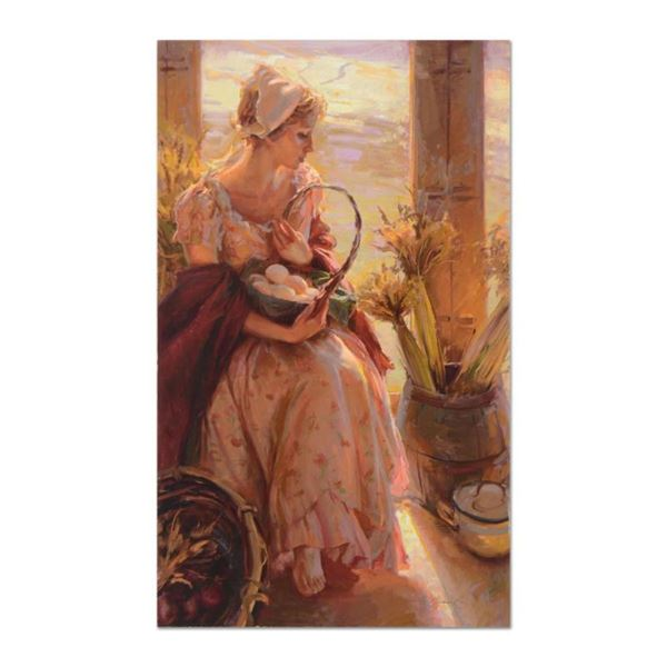 "Dan Gerhartz, ""Early Morning Warmth"" Limited Edition on Canvas, Numbered and Han"