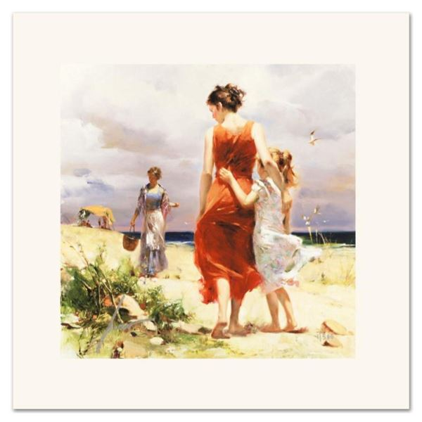 """Pino (1939-2010) """"Breezy Days"""" Limited Edition Giclee. Numbered and Hand Signed;"""