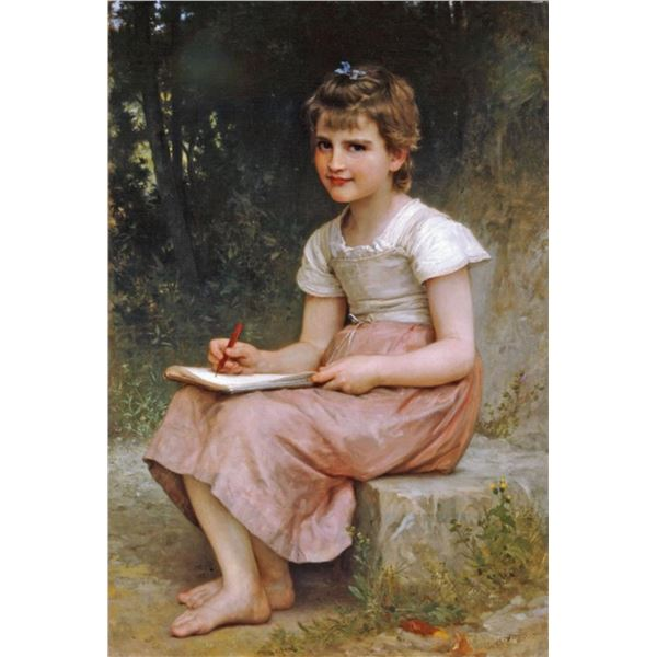 William Bouguereau - A Calling 1896