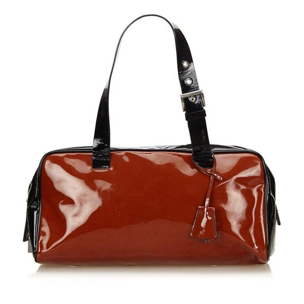 Prada Patent Leather Handbag